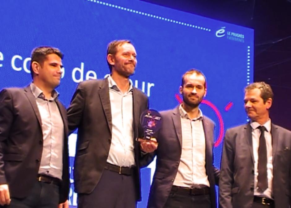 """Prix """"Coup de Cœur du Jury"""" aux Trophées de l'Innovation 2017"""